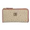 Adamis Beige Leather Womens Wallet