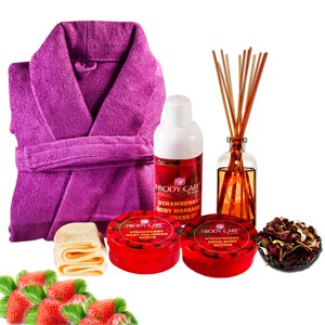 Luxury of Strawberries Gift Basket
